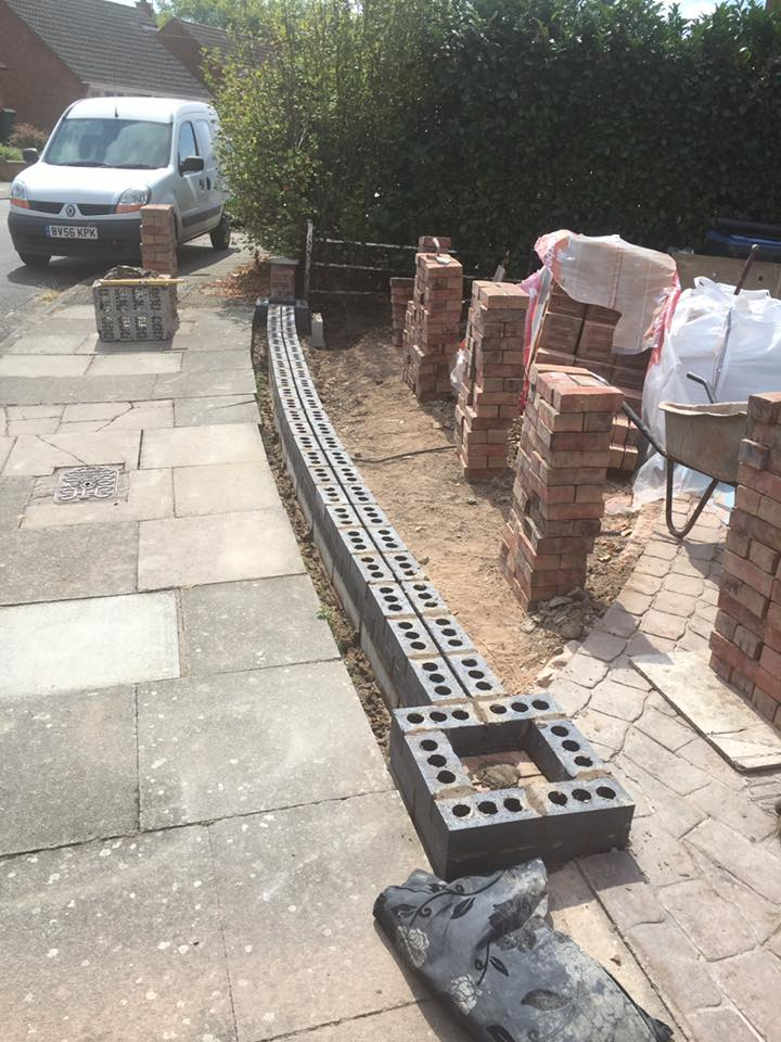 First Course – Boundary Wall Coventry