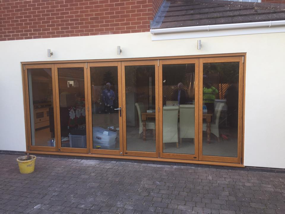 Bi-Folding Oak Doors