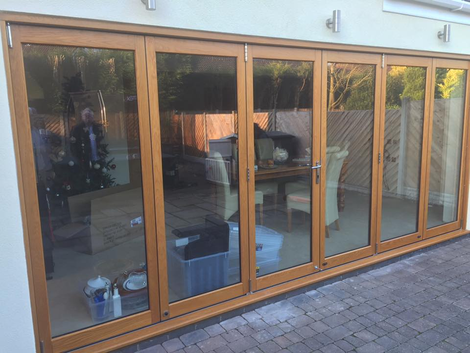 Bi Fold Doors Close Up
